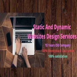PHP/JavaScript Static And Dynamic Websites Design Services, With 24*7 Support