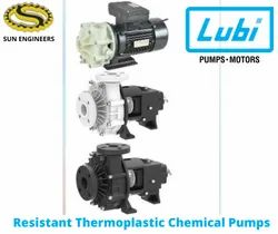 LUBI Corrosion Resistant Thermoplastic Chemical Pumps.