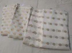 Banarasi Chanderi Jacquard Fabrics
