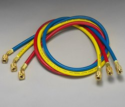 Refrigerant Charging Hoses ( Yellow Jacket USA) Plus II 1/4 set of 3 pc