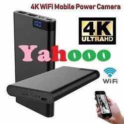 Black Spy Power Bank Camera H11 Ultra HD with Night Vision, For Office