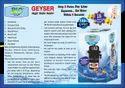 Bio Geyser Portable Water Heater