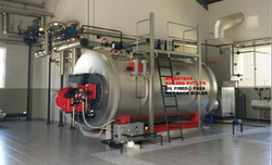 Oil Fired 14 TPH Industrial Steam Boiler, IBR Approved