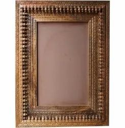 Brown Wooden Decorative Photo Frame, Size: 24x30inch