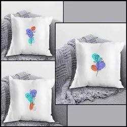 iKraft Cushion Design - Flowers Abstract Art - Set of 3