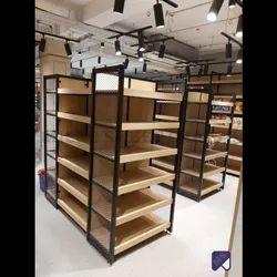 Retail Wooden Display Racks