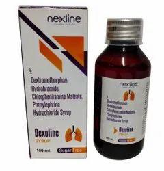 100ml Dexoline Dextromethorphan Syrup