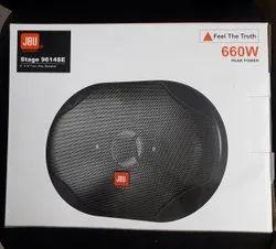 Black JBU Oval Speaker, For Car, Stage 9614 Se