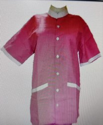 Female Nursing Uniform Half Sleeves PS-11