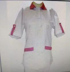 Female Nursing Uniform Half Sleeves PS-5