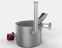 Gungunwala Direct Heating Circular Fryer, For Industrial