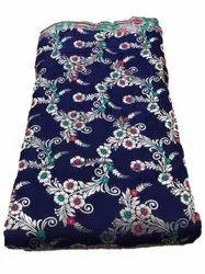 Printed Jacquard Silk Fabric