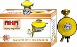 Aha gas safety device with regulator