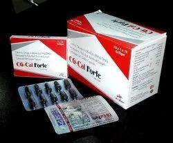 Calcitrol 0.25mcg with Omega 3 fatty Acid (EPA180mg+DHA120mg) Calcium Carbonate 500mg Soft Gel