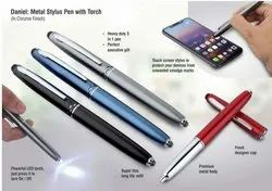 Metal Stylus Pen With Torch