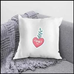 iKraft Cushion Cover (Without Filler) Design - Family First