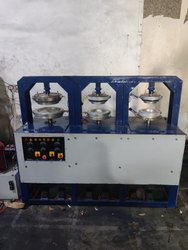 Areca Plate Making Machine Semi 3 Die