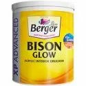 Berger Bison Glow Acrylic Interior Emulsion 4 L With Services Of Home Painting