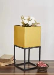 Iron Planter With Stand