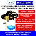 High Pressure Water Jet Cleaner Italian Grade Continuous Duty & Industrial