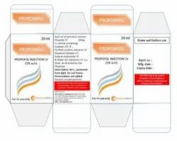 Propowell ( Propofol ) Injection