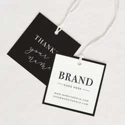 Paper Tag Printing Services