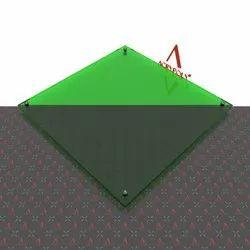 Green Transparent Acrlic Sheet