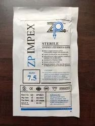 ZP Impex White Sterile Latex Surgical Gloves