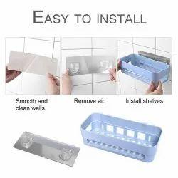 gade White Bathroom Storage Organizer, For Home, Size: 25 X 11 X 7 cm