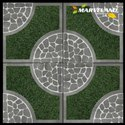 Ceramic Vitrified Parking Tile, Thickness: 5-12 Mm, Size: 12x12 Inch