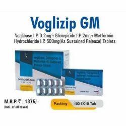 Voglibose I.P. Glimepiride I.P. Metformin Hydrochloride I.P. Sustained Release Tablets