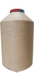 Dyed Off White 150 72 Lichi Yarn, For Textile Industry