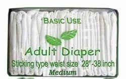 Adult Diaper Medium Plain
