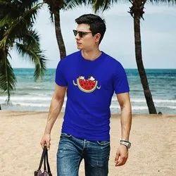 iKraft Men's Blue T-Shirt