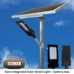 Semi Integrated Solar Street Light  Glass Model