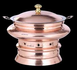 Copper Mumtaz Mahal Chafing Dish