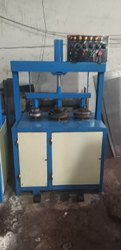 Single Cylinder Triple Die Hydraulic Plate Making Machine
