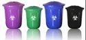 Household Round Bin with Lid Heavy Duty Commercial Grade