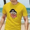 iKraft Men's Yellow T-Shirts