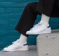 White Adidas Stan Smith, Size: 40-44