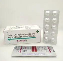 Nebovol H ( Nebivolol Hcl 5mg+ Hydrochlorthiazide 12.5 Mg)