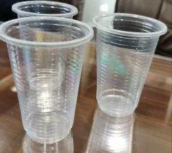 Transparent 280ml Disposable Plastic Glass, Size: 250 ml