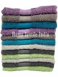Plain Cotton Face Wash Towel, For Bathroom, Size: 30 X 60inch