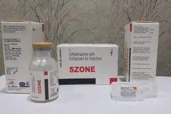 Cefoprazone 1gm+Sulbactum 500mg Injection
