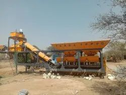 Fully Automatic Mobile Concrete Batching Plant