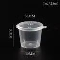 25ml Plastic Dip Container Sauce and deep container