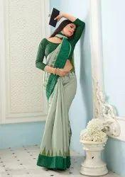 Woman Bhagalpuri Designer Saree