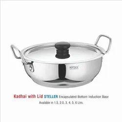 Stainless Steel Cooking Kadhai-Steller