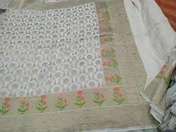 Handloom Banarasi Muga Silk Saree