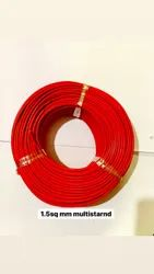 1.5 sq mm Multi Strand Cable, 90 m